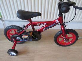 BOY /GIRLS.Universal 12 Inch Bike - Unisex, LADYBIRD,,, PIRATE (stabilisers included). NEW