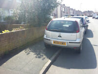 55 SILVER CORSA LIFE TWINPORT 6 MONTHS MOT SPARES OR REPAIR