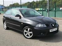 2006 SEAT IBIZA SPORT* ALLOYS * 5 DOOR *NEW MOT * FULL SEAT SERVICE HISTORY * PX *DELIVERY AVAILABLE