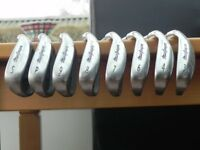 McGregor DX Irons 3 - 9(no 5 iron) plus PW and SW