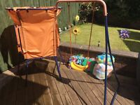 Swing and Trampoline set