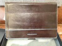 Piquadro iPad Mini leather case with Bluetooth Keyboard