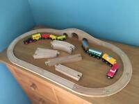 Wooden Trains & Track