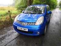 Nissan, NOTE, MPV, 2008, Manual, 1386 (cc), 5 doors, 12-MOT