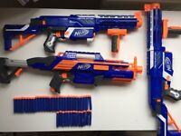 Large collection of nerf guns (RRP £170)