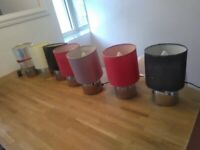 Seven touch lamps with bulbs central London bargain