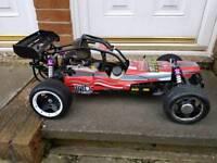 Petrol rc buggy yama 1/5th