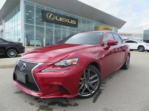 2015 Lexus IS 350 F SPORT 2 * NAVIGATION POWER MOONROOF