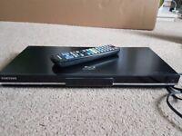 Samsung Bluray player BD C5300, plays region free DVDs. Internet Capable
