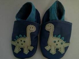 Inch Blue baby shoes