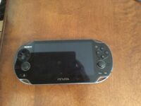 Sony PlayStation vita with 4 games+ box+ travel case