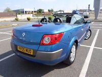 Renault Megane Convertible 1.6 Sat Nav petrol excellent condition runs great