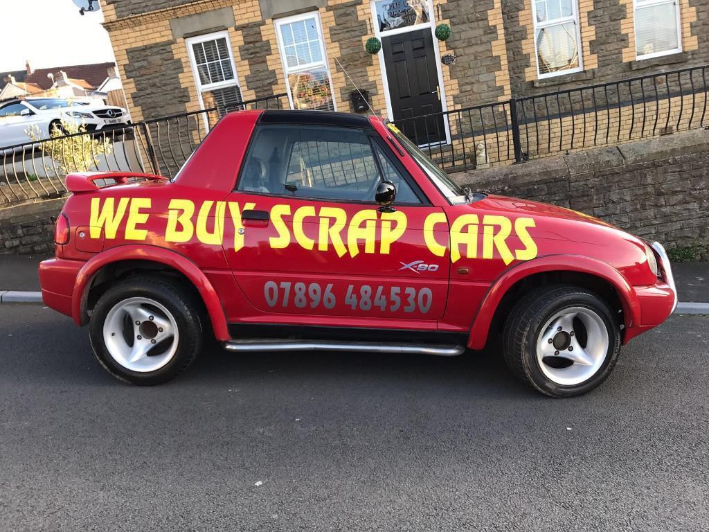 WE BUY SCRAP CARS! Ford Toyota Renault Vauxhall Peugeot Audi ...