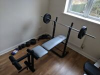 York Fitness Flat and Incline Folding Bench £50