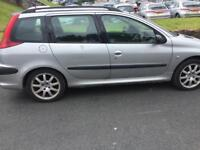 Peugeot 206 SW for spare or repair
