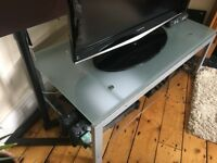 Metal and Glass Coffee table or Tv cabinet