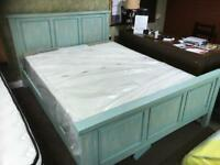 New ex display kingsize bed with new Mattress