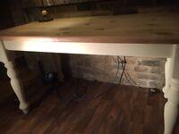 Pine Solid Vintage Table