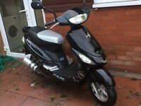 Pulse Scout 50cc Moped 2500miles 15plate