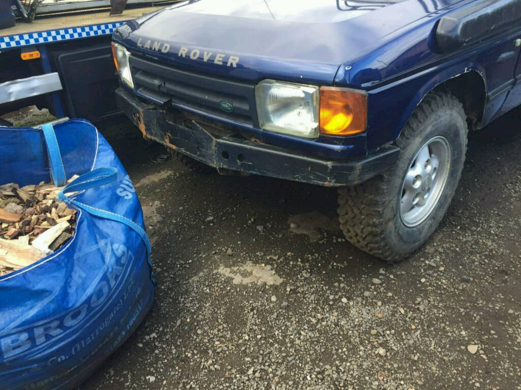 Land rover discovery 1 winch bumper