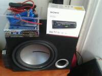 Sony stereo and sub woofer