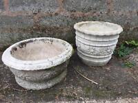 Planters. Outdoor pots