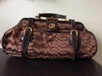 Gorgeous vintage and as new Nazareno Gabrielli travel bag