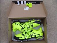 (worn once) kids size 4 football boots