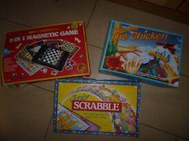 Bundle of 3 children's games Age 5+