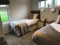Cambrian Snodonia super lodge , white acres new development Cornwall , static