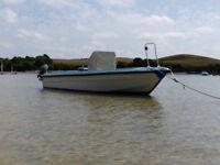 20ft Humber river patrol boat,day fisher,diesel,jet drive