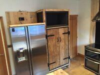 Industrial style larder / pantry cupboard