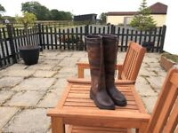 Dubarry Galway Slim Ladies Country Boots / Riding Boots size 35/3 as new