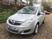Vauxhall Zafira 1.9 cdti design automatic