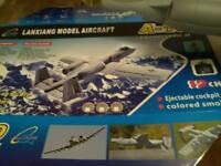 Lanxiang A10 Warthog RC aeroplane.