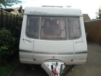 swift signature 15/2 2002 2 berth with large porch awning