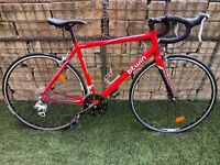Road Bike - Triban 3 - Red 20in Frame - Great Condition