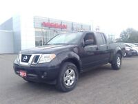 2013 Nissan Frontier SV Crew cab, 4x4, Bluetooth