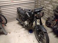 1983 Suzuki Gs125 spares or repair / restoration project