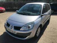 2008 57 renault grand scenic dynamique 7 seat 1.5 dci