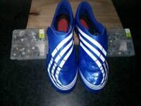 Adidas f50.9 tunit football boots, size 6.5uk