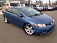 2006 Honda Civic EX Coupe - Only 106KM! Sunroof, Pwr L/M/W, Crui