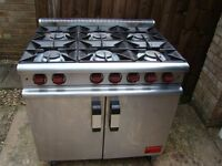 MOORWOOD VULCAN 4/6/8 BURNER LPG PROPANE GAS COOKERS PLEASE READ THE DESCRIPTION FOR INFORMATION