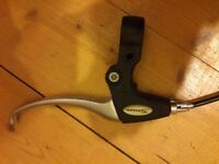 Aluminum brake lever for bike with front cable (Saccom)