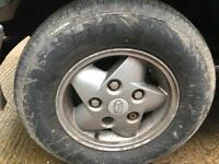 Land Rover discovery wheels and tyres 235 70 16