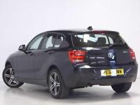 BMW 1 Series 116D SPORT (black) 2014-09-09