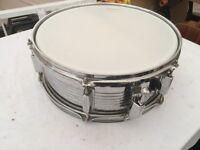 "Metal Snare 14"" drum"