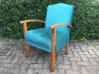 Old style nursing/reading chair