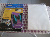 A4 Fellowes Laminating pouches Approx 90