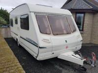 2005 abbey aventura ,4 berth with fixed bed,